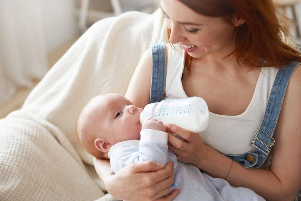 Les différents types de lait infantile pour le nourrisson