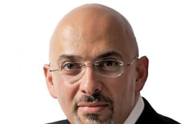 Nadhim Zahawi, minister for construction and vaccines