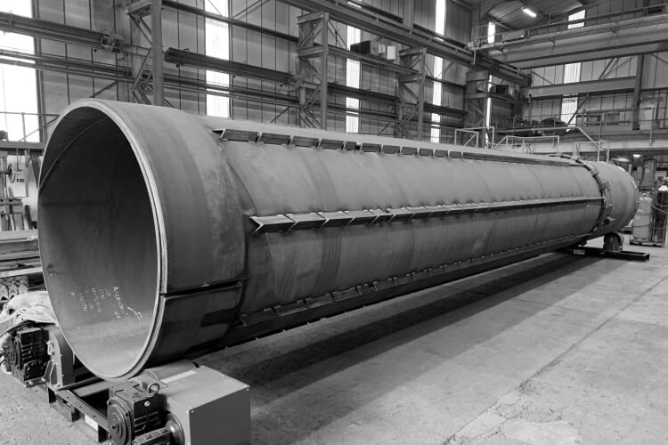 Blackhill fabricated 15 sacrificial casings measuring up to 18 metres long