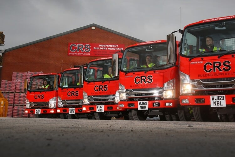 CRS Building Supplies operates from 12 branches across Somerset