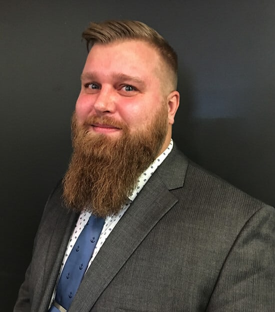 photo of Christian Larsen, Edmonton family lawyer with Crerar Badejo Hagen Family Law Group