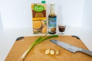 Keto Ramen Broth Ingredients