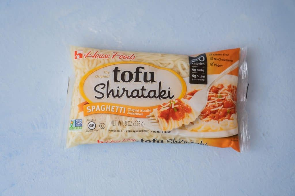 House Foods tofu shirataki spaghetti package