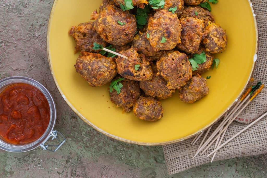 Keto Sausage Balls featured image