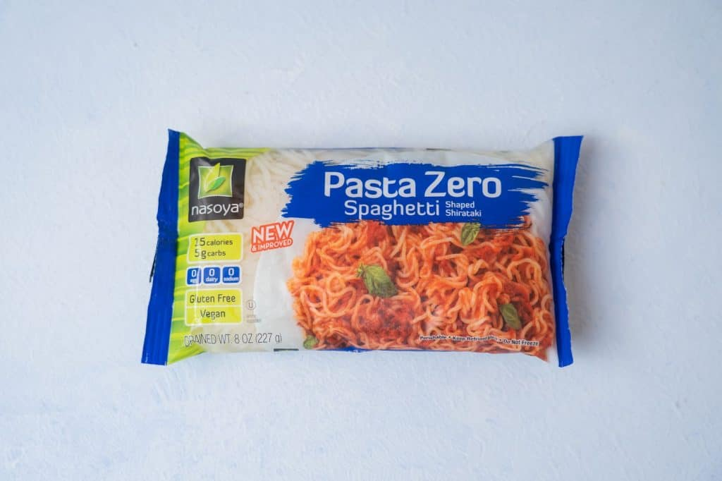 Nasoya Pasta Zero Spaghetti package