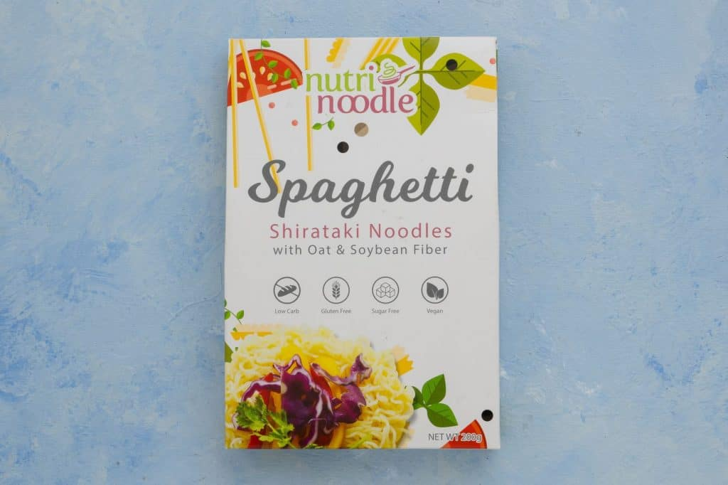 Nutri Noodle spaghetti package