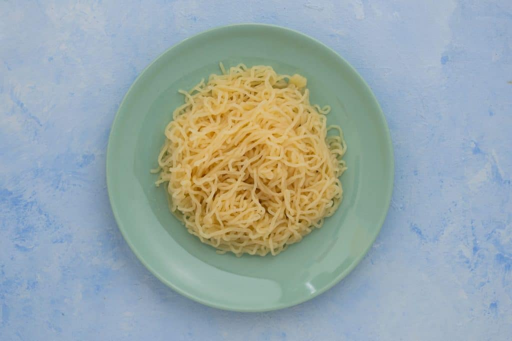 Nutri Noodle Spaghetti on plate