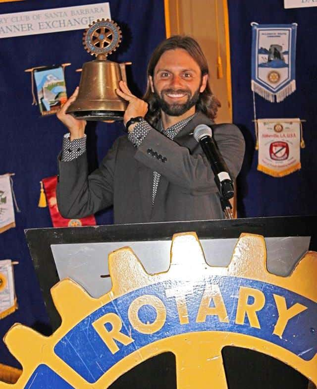 Chris Clemens Rotary President