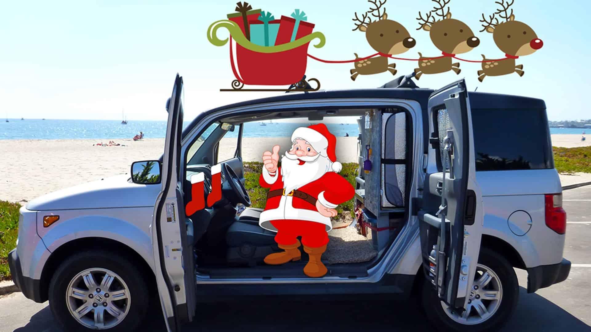 Honda Element Christmas