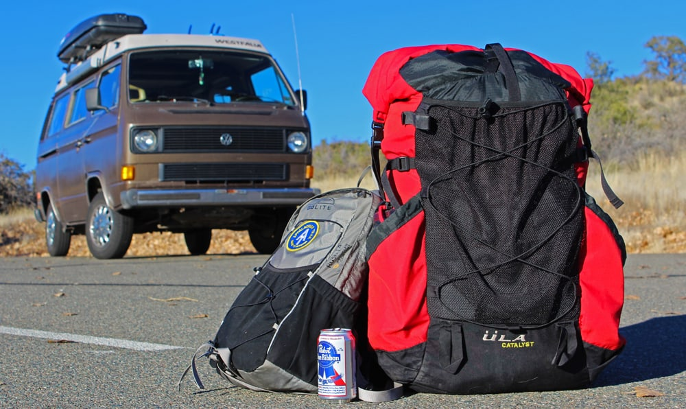 Living Out Of A Backpack - Chris Tarzan Clemens