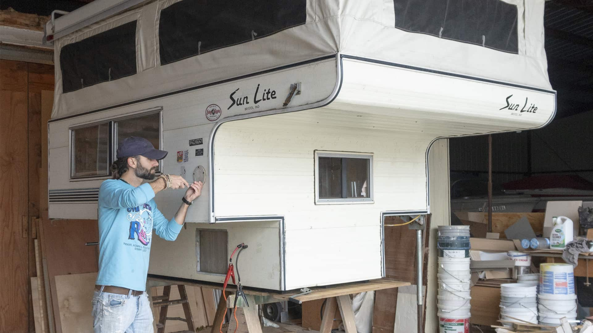 Remodeling A Truck Camper