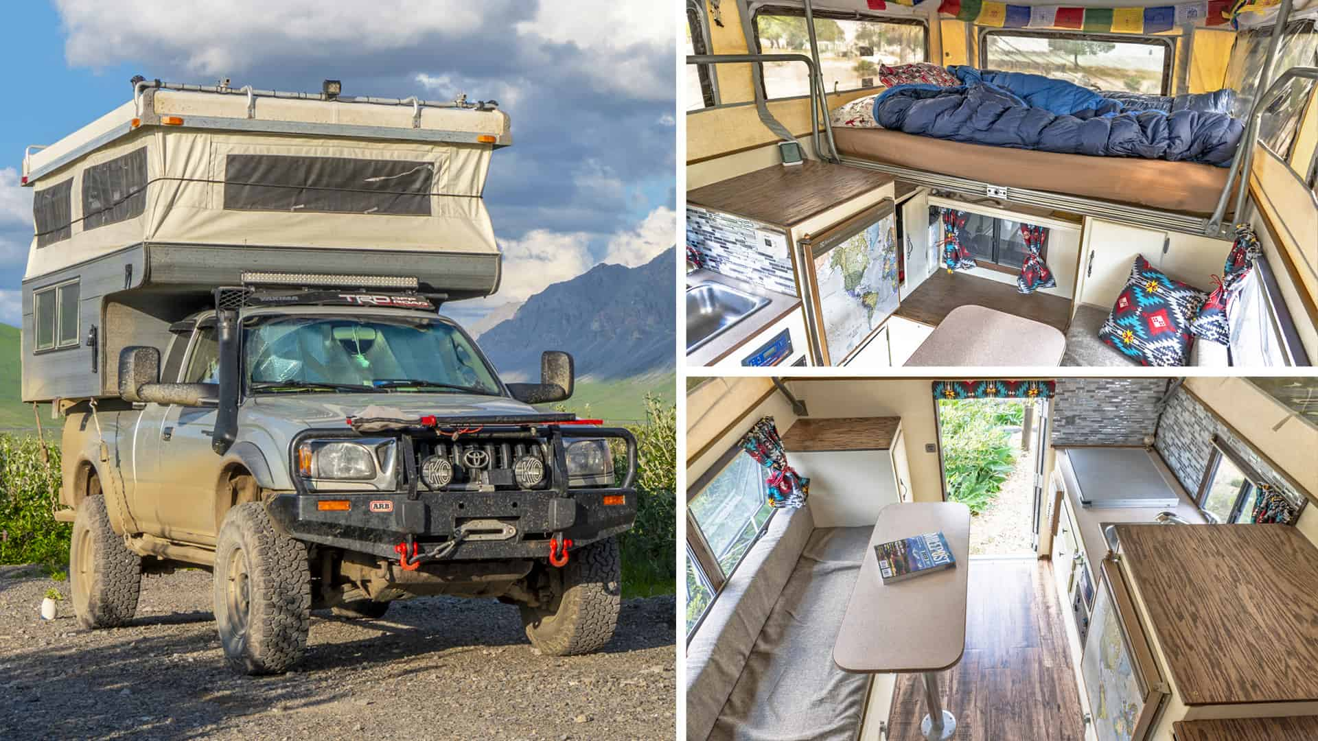 Living In A Truck Camper