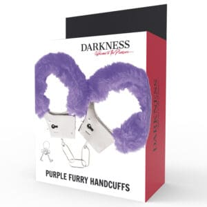 menottes-fausse-fourrure-violet-darkness-emballage