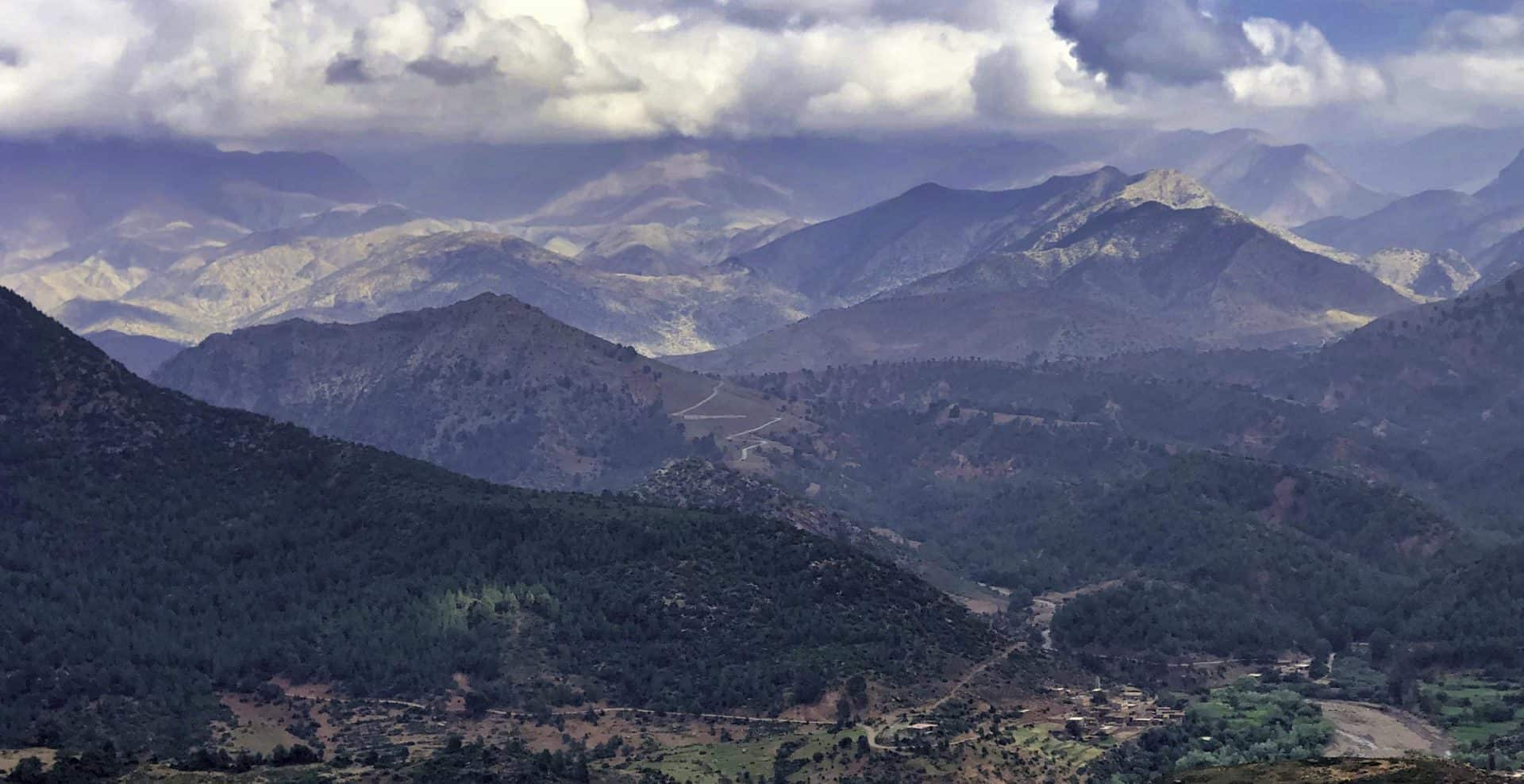 Morocco's Atlas Mountains aren't the world's tallest, but at least they're not more @#$%ing desert.