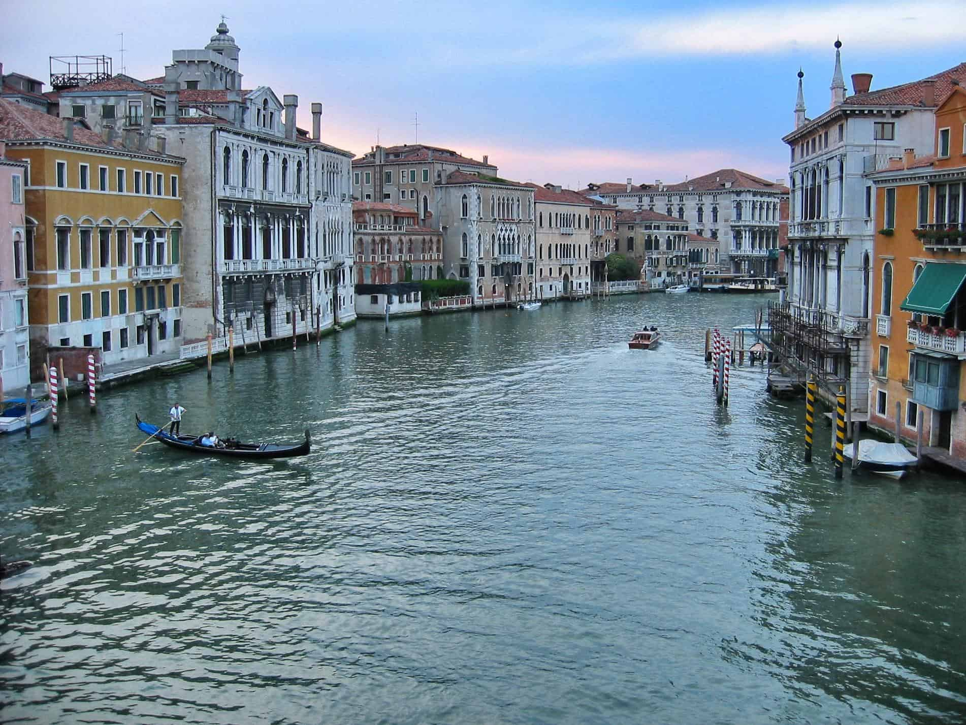 Venice, Italy: Seeing this unforgettable city before it sinks and is forgotten.