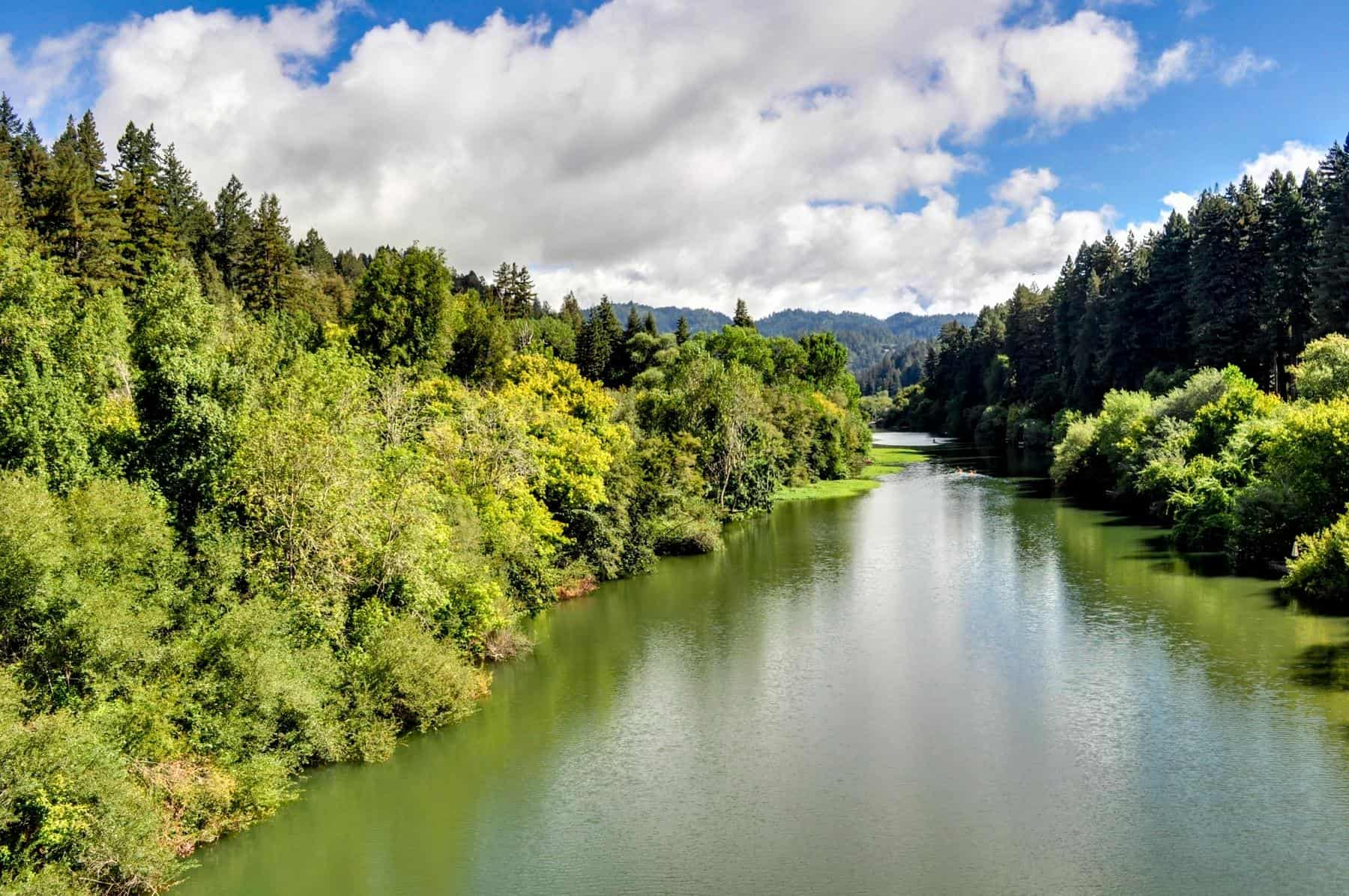 Guerneville, CA: Get away from everything (including cell coverage).