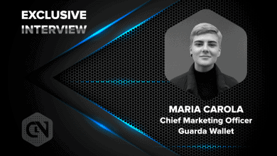 Photo of Guarda Wallet's Chief Marketing Officer, Maria Carola in an Exclusive Interview with CryptonewsZ