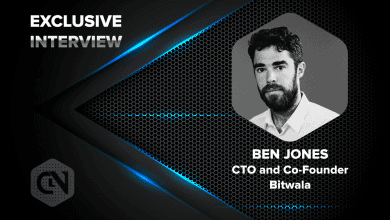 Photo of Ben Jones, CTO and Co-founder of Bitwala Speaks Exclusively to CryptoNewsZ
