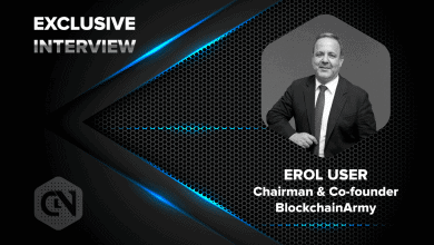 Photo of Erol User, Chairman and Co-founder of BlockchainArmy Speaks Exclusively to CryptoNewsZ