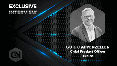 Photo of Yubico's Chief Product Officer Guido Appenzeller Speaks Exclusively to CryptoNewsZ
