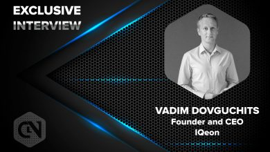 Photo of IQeon's Founder and CEO Vadim Dovguchits in an Exclusive Interview with CryptoNewsZ
