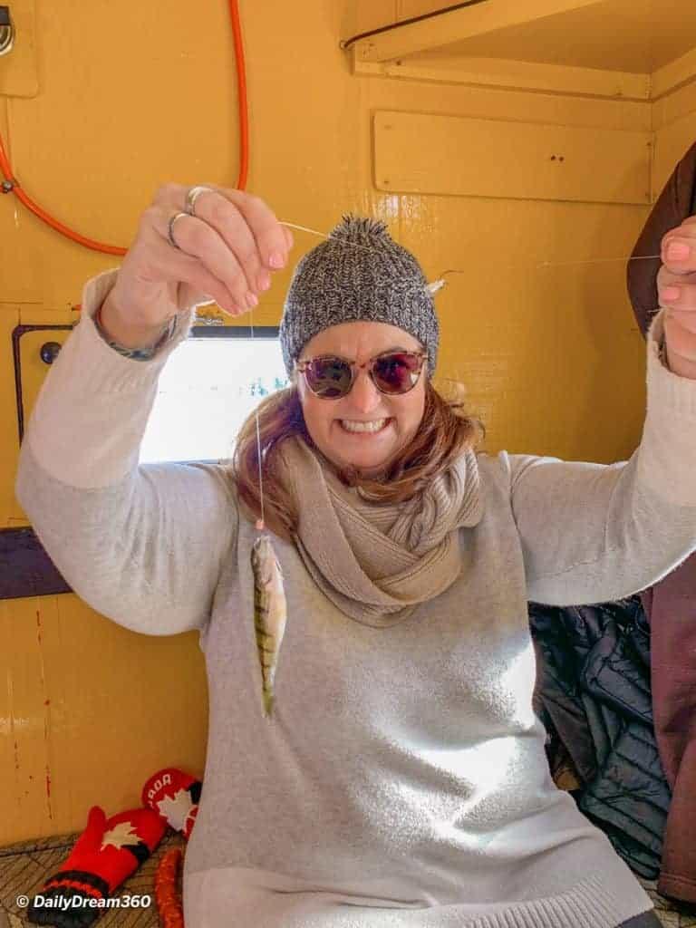 Fishing with Scugog Ice Adventure