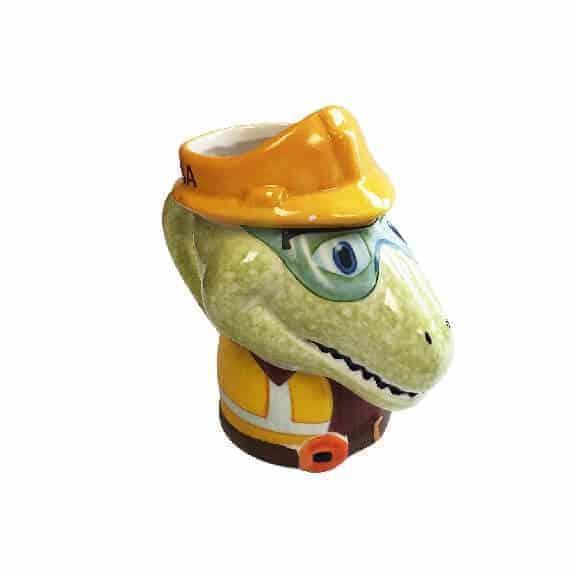 D-Rex ceramic coffee mug left side D-Rex