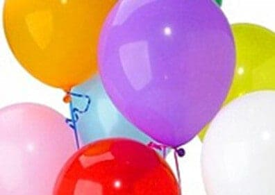 Group of party balloons