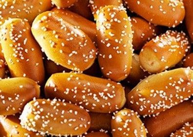 Salted pretzel bites