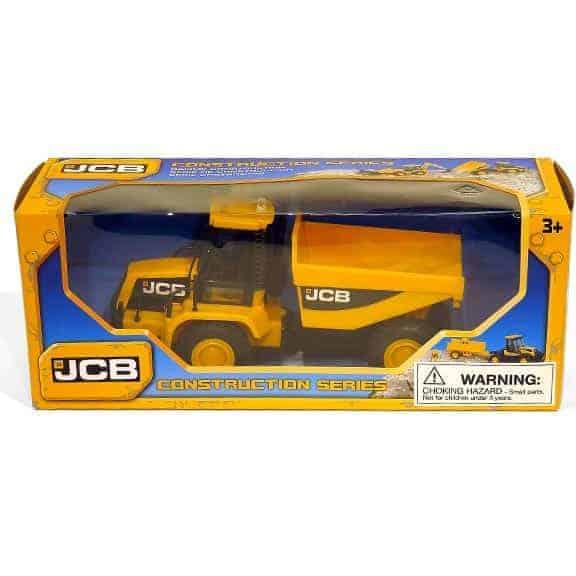 JCB dumper truck in packaging