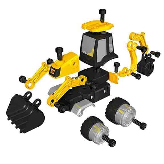 JCB multi construct backhoe loader pieces