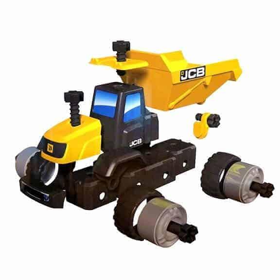JCB multi construct dump truck pieces