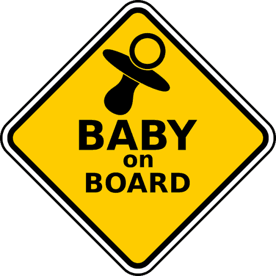 Why Do People Put Baby On Board Signs On Their Vehicles?