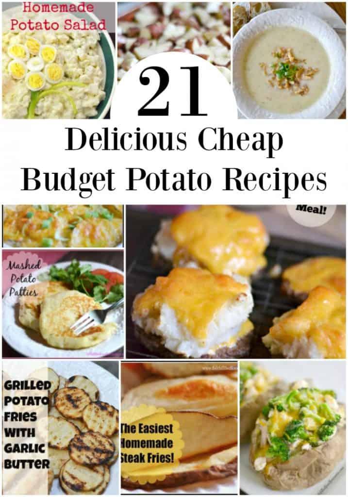 21 budget potato recipes