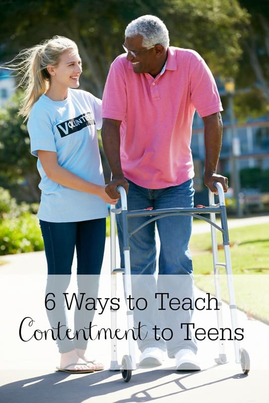 6 Ways to Teach Contentment to Your Teen