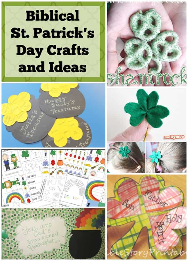 Biblical St. Patrick's Day Crafts and Ideas