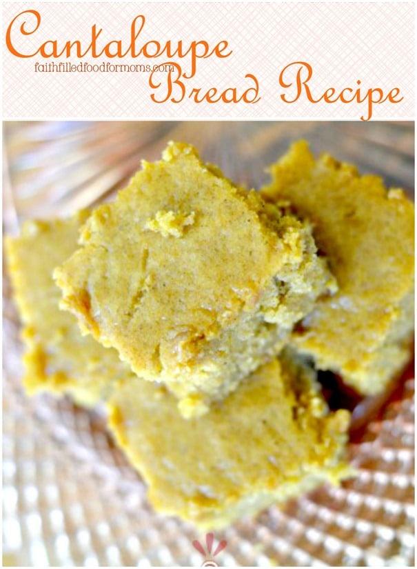 Cantaloupe Quick Bread Recipe
