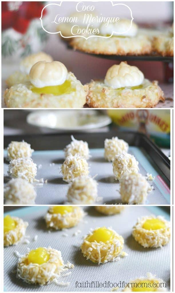 Coco Lemon Meringue Cookies ~ Super Yummy