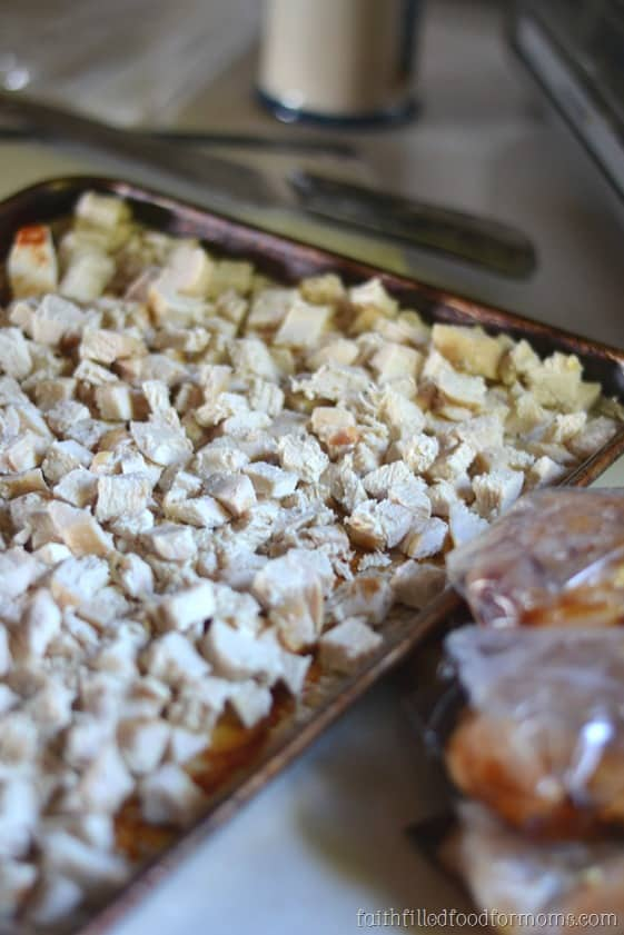 Healthy Chicken Freezer Meals