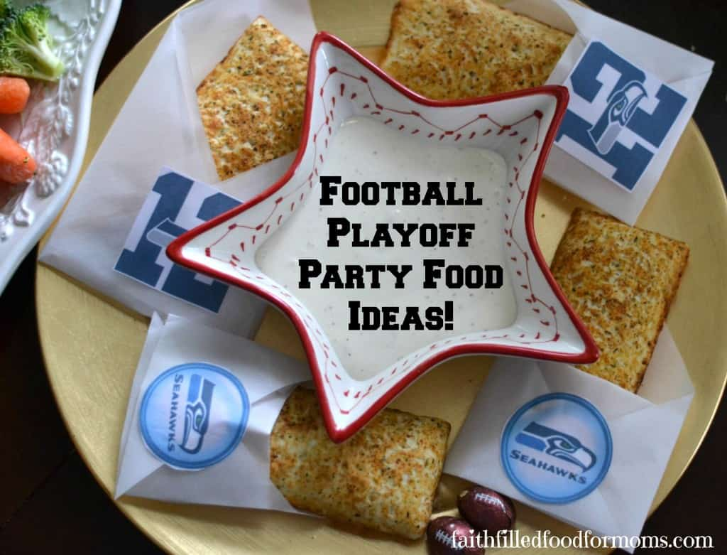 Football Playoff Party Food Ideas