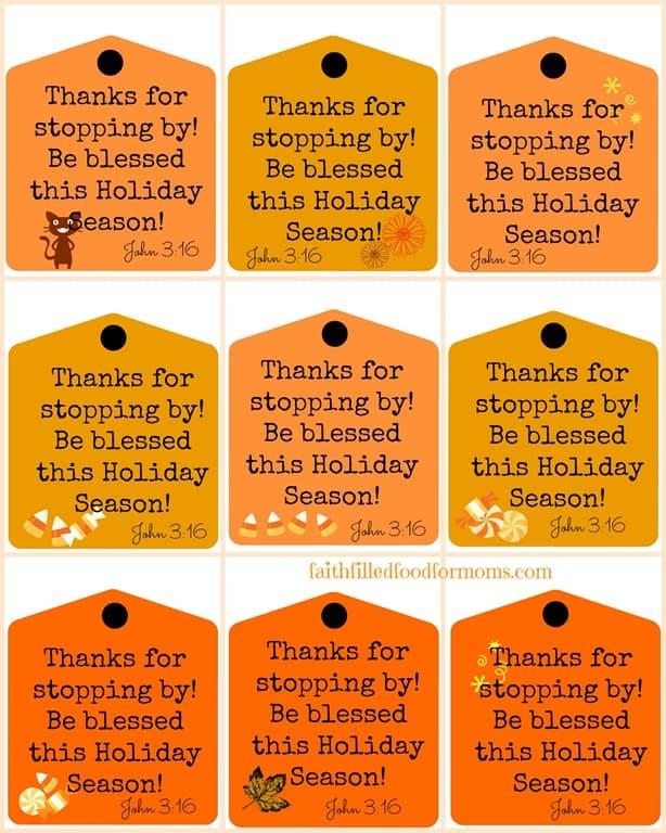 Halloween-Blessings printable