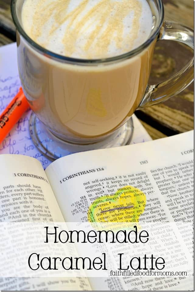 Homemade Caramel Latte Recipe