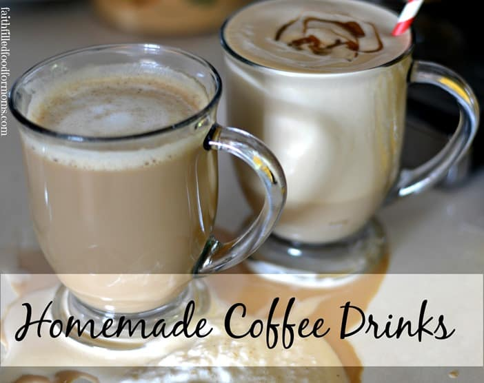 Homemade Coffee Drinks #CookinComfort #Shop