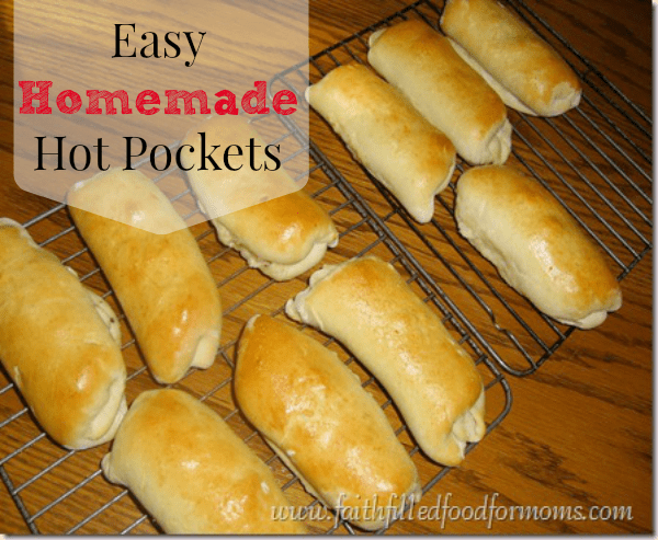 Homemade Hot Pockets