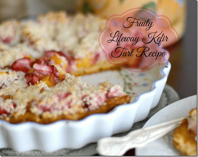 #KefirCreations #cbias Fruity Lifeway Kefir Tart Recipe