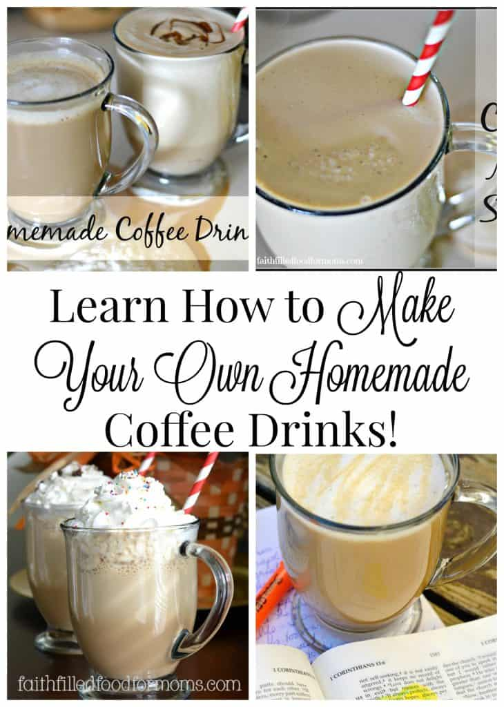 Learn How to Make Your Own Homemade Coffee Drinks at Home