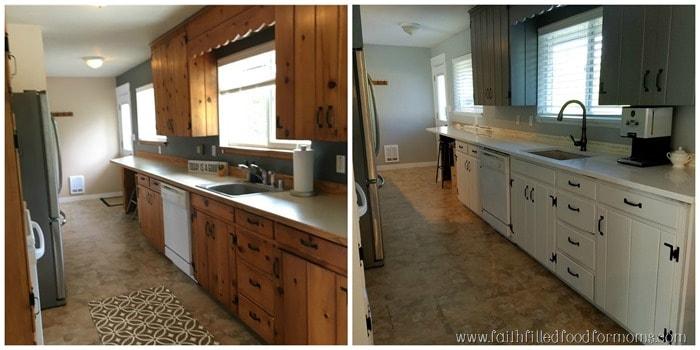 Michelle Kitchen Update new house