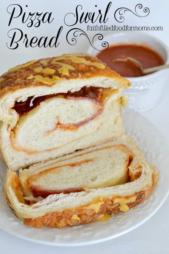 Pizza Swirl Bread YUM!