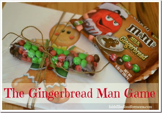 DIY Gingerbread Man Game for Gaining Wisdom #shop #HolidayMM #cbias