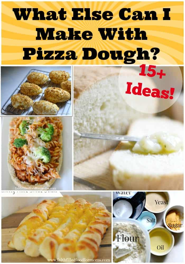 different things to do with pizza dough